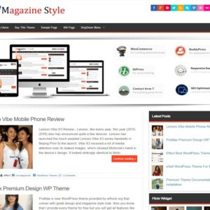Magazine Style Best Wordpress Themes