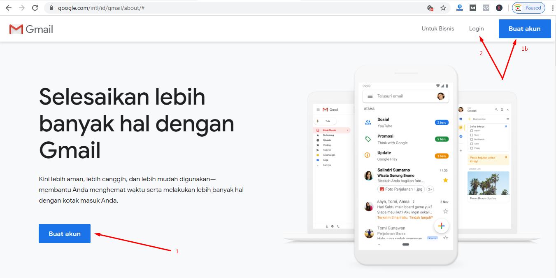 Lihat Cara Membuat Akun Baru Di Google Terbaru