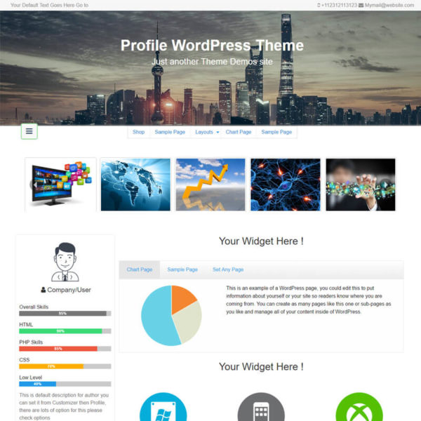 Profile Pro Insertcart WordPress Premium Themes