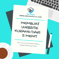 Panduan Cara Membuat Website WordPress Kurang dari 5 Menit